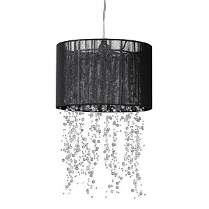 ZAPPOBZ HLLSN01 Jellyfish Garland Chandelier, Black Shade by ZAPPOBZ