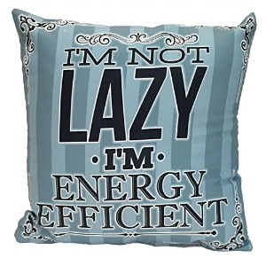 Spoontiques I ' m Not Lazy Pillow