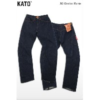 KATO' DENIM(カトーデニム)3D Denim Pants
