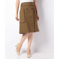 ★dポイントが貯まる★【SHIPS OUTLET(シップス アウトレット)】【SHIPS for women】TELA:TRENCH SK【dポイントでお得に購入】