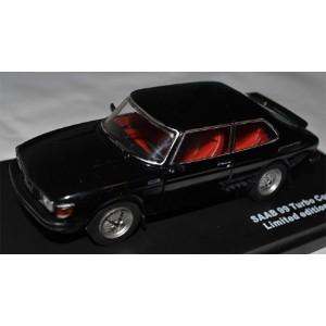 1/43 1977 Saab 99 Turbo Combi Coupe,Black with red interior(再販)[TRIPLE 9 COLLECTION]《取り寄せ※暫定》