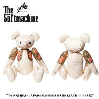 SOFTMACHINE(ソフトマシーン)TATTOO BEAR JAPANESE(HAND MADE LEATHER BEAR)【2017AUTUMN/WINTER先行予約】【キャンセル不可】...