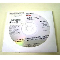 【未開封品】リカバリディスク!DynABook Satellite J72&K22/WindowsXP Professional
