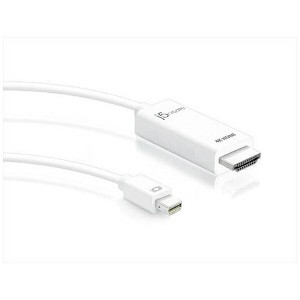 J5 1.8m[Mini DisplayPort → HDMI]ケーブル JDC159 Mini DisplayPort to 4K HDMI Cable
