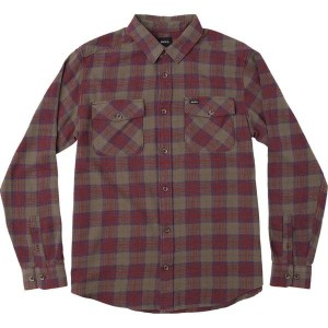 ルーカ メンズ シャツ トップス That'll Work Flannel Long Sleeve Shirt - Men's Red