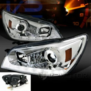 レクサス ヘッドライト 2001-2005 Lexus IS300 LED DRL Signal Strip Projector Headlights (2006 LOOK) 2001...