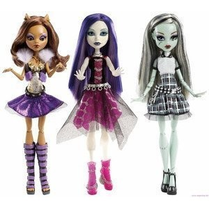【送料無料】【Monster High (モンスターハイ) Ghouls Alive Set of All 3: Howling Clawdeen Shrieking Spectra...