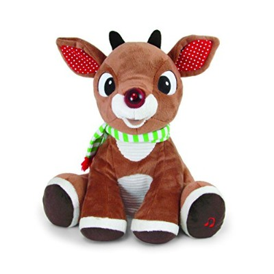Rudolph Plush with Music and Lights by Kids Preferred [並行輸入品]
