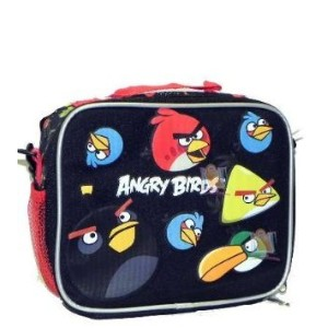 Angry Birds Insulated Lunchバッグブラック05489