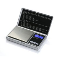 American Weigh Scales aws-201-sil個人Nutritionデジタルスケール、ポケットサイズ、シルバーby American Weigh Scales