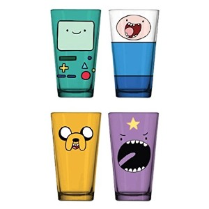 Justファンキーat-gs4 – 4987-jfc Adventure Time面4 Pack Pint Glasses