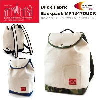 【Manhattan Portage】マンハッタンポーテージ Duck Fabric Backpack MP1247DUCK