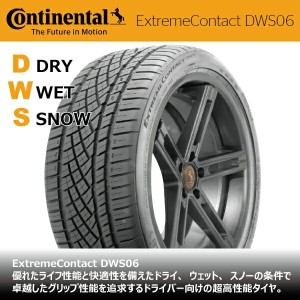 コンチネンタルExtremeContact DWS06295/35ZR18 99Y XL