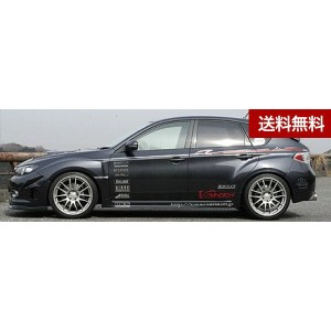 IMPREZA GRB STi CARBON PILLER GARNISH