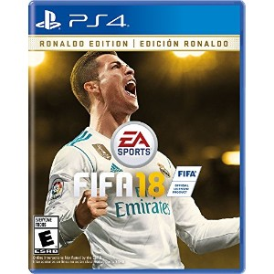 EA Sports FIFA 18 Ronaldo Edition - PlayStation 4 - USA.
