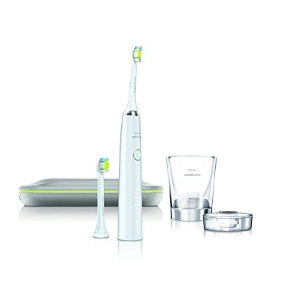 Philips HX9382/04 Sonicare DiamondClean Sonic electric toothbrush & Simple English User's Manual...