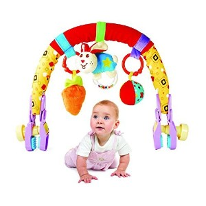 Beautiful Baby Car Seat Infant Seat Stroller Toys Carriage Arch Toy (Baby Stroller Toy Red) by...
