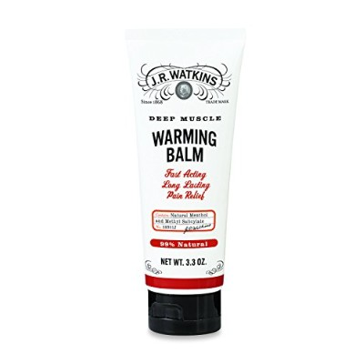 海外直送品Deep Muscle Warming Balm, 3.3 OZ by J R Watkins