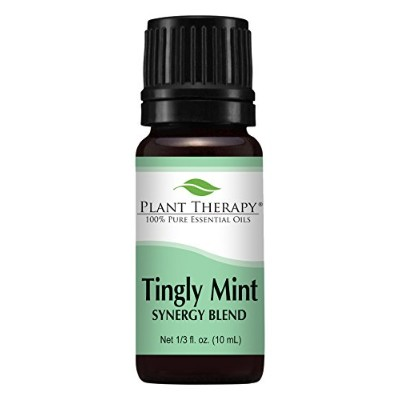 Tingly Mint Synergy. Essential Oil Blend. 10 ml (1/3 oz). 100% Pure, Undiluted, Therapeutic Grade. ...