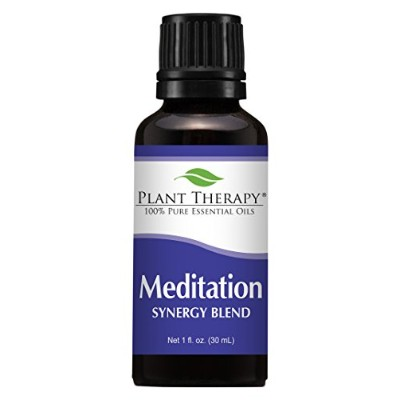Plant Therapy Meditation Synergy Essential Oil Blend. 100% Pure, Undiluted, Therapeutic Grade....