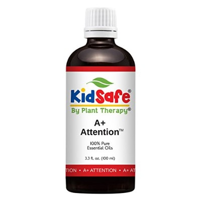 Plant Therapy KidSafe A+ Attention Synergy Essential Oil Blend. Blend of: Petitgrain, Bergamot,...