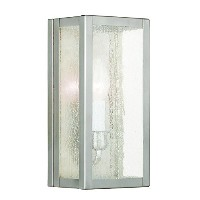 Livex Lighting 4049-91 Milford 1-Light Wall Sconce, Brushed Nickel by Livex Lighting