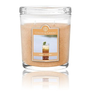 Colonial Candle 8オンスOval Sweet Iced Tea