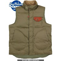 BUZZ RICKSON'S/バズリクソンズ WG-1 DOWN VEST William Gibson Collection ウィリアム・ギブソン コレクション、ダウンベスト OLIVE(オリーブ...