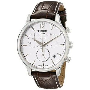 ティソ Tissot 腕時計 メンズ 時計 Tissot Men's T063.617.16.037.00 Stainless Steel Tradition Watch with Textured...