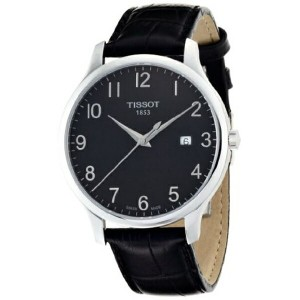 ティソ Tissot 腕時計 メンズ 時計 Tissot Men's TIST0636101605200 T Classic Analog Display Swiss Quartz Black...