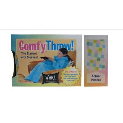 VMI Kids Comfy Throw, Squares [並行輸入品]