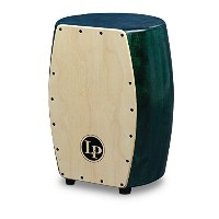 LP M1405GN カホン Matador Stave Quinto Cajon Green with Natural Front