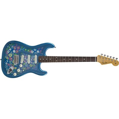 Fender エレキギター MIJ Traditional '60s Stratocaster Rosewood Blue Flower