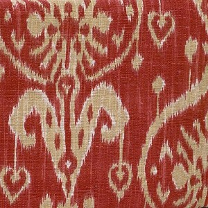 Cotton Tale Designs Sidekick Ikat Fabric, Red by Cotton Tale Designs