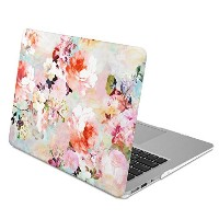 GMYLE Hard Case Print Frosted MacBook Air 13 專用 - Vintage Flower Pattern ハードケースカバー