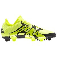 Adidas X 15.1 FG/AG - (Solar Yellow/Frozen Yellow/Black)/サッカースパイク X 15.1 FG/AG (8 - J 26.0)