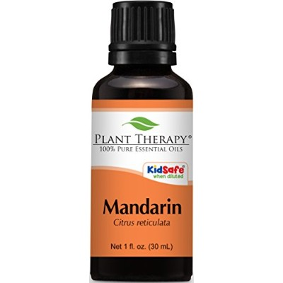 Plant Therapy Mandarin Essential Oil. 100% Pure, Undiluted, Therapeutic Grade. 30 ml (1 oz). by...