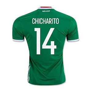 CHICHARITO #14 Mexico Home Jersey COPA America Centenario 2016(Authentic name & number)/サッカーユニフォーム...