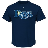 Chris Archer Tampa Bay Rays # 22 MLBメンズName & Number Tシャツ( Small )