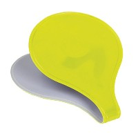 M-Wave Reflective Magnetic Clip, Neon Yellow by M-Wave