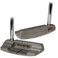 RifeメンズSorrentoスターリングmid-mallet putter-right hand-steel-34inches