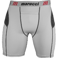 Marucci Youth Eliteパッド入りSlider Shorts withカップ XL