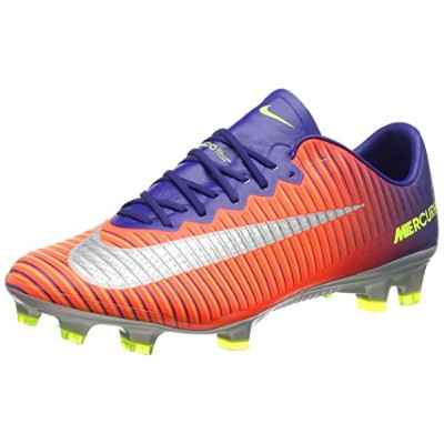 Nike Mercurial Vapor XI FG - Deep Royal Blue & Chrome サッカースパイク (US Size - 11)