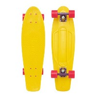 Penny Nickel Yellow / Purple / Pink Complete Skateboard Cruiser - 7.5 x 27 by Penny