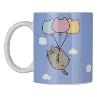 Pusheen Blue Printed Ceramic Mug