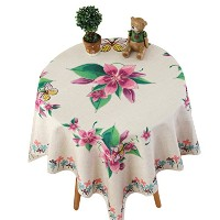Zhhlinyuan 良質 Home Hotel Restaurant Tablecloth Classic Cotton Linen Square Table Cover