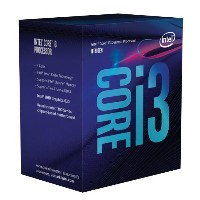 Intel Core i3 8100 (BX80684I38100) Coffee Lake (3.60GHz/4Core/4Thread/リテールBOX) LGA1151
