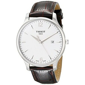 ティソ Tissot 腕時計 メンズ 時計 Tissot Men's T063.610.16.037.00 Tradition Silver-Tone Stainless Steel Watch