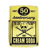 ☆CREAM SODA 50thANNIV. 角ドクロ Zippo GOLD ☆PINK DRAGON クリームソーダ JIMMY'S DREAM
