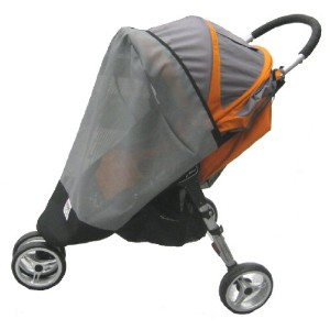 Sashas Sun, Wind and Insect Cover for Baby Jogger City Mini Single Stroller Model by Sasha Kiddie...
